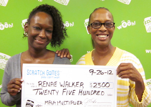 Renae Walker - $2,500 Mega Multiplier | by Idaho Lottery