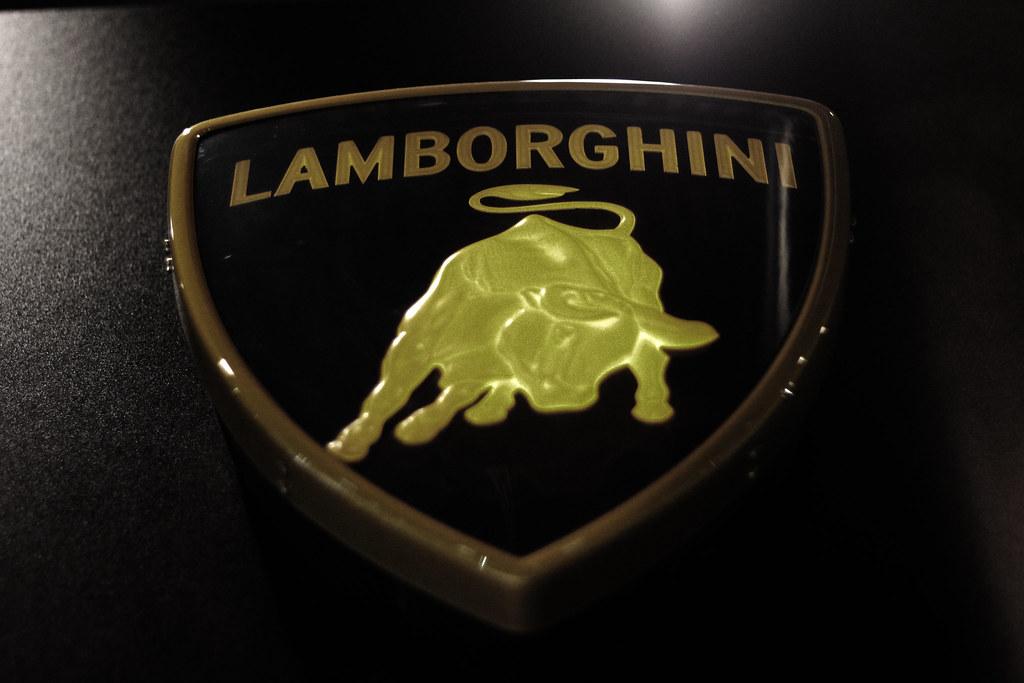 Lamborghini Logo Embossed Lamborghini Logo Basem Magdy Flickr