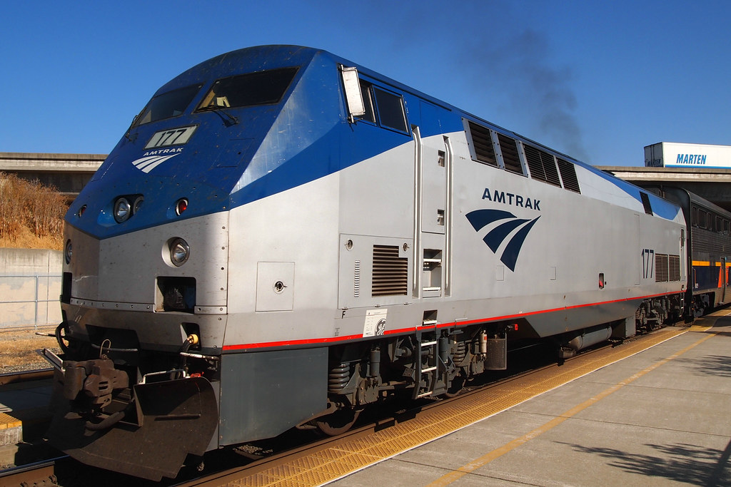 Amtrak 177 Genesis P42 2 Photogrphed At The Suisun