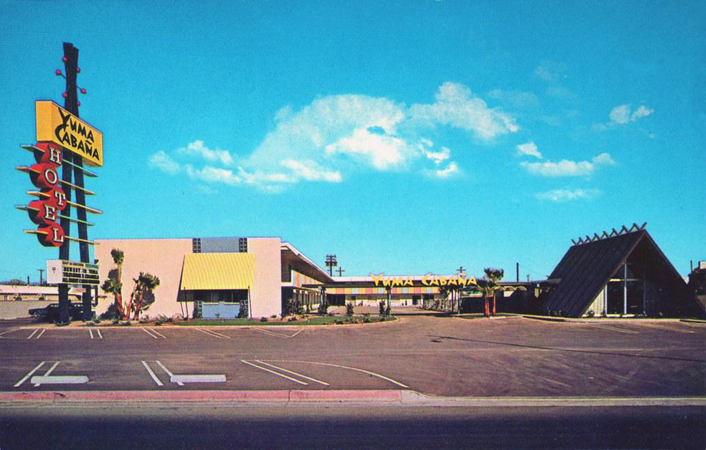 Yuma Cabana Motor Hotel - Yuma, Arizona