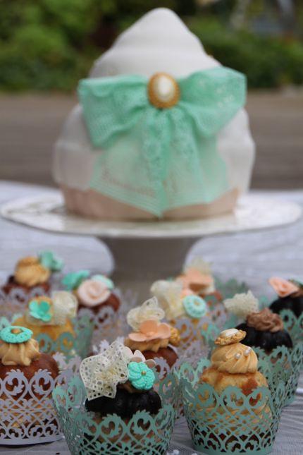 V Cupcakes Vintage Mint Schleife Brosche Hochzeit Hochzeit Flickr