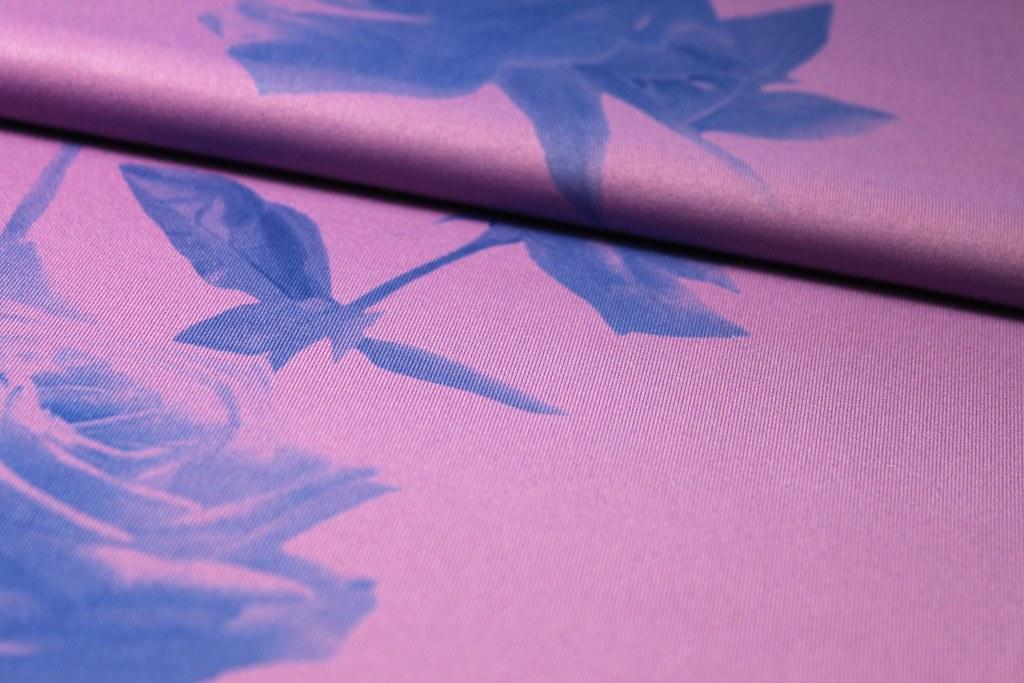 Feinjersey Rose, lila-blau