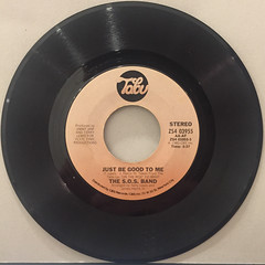 THE S.O.S. BAND:JUST BE GOOD TO ME(RECORD SIDE-A)