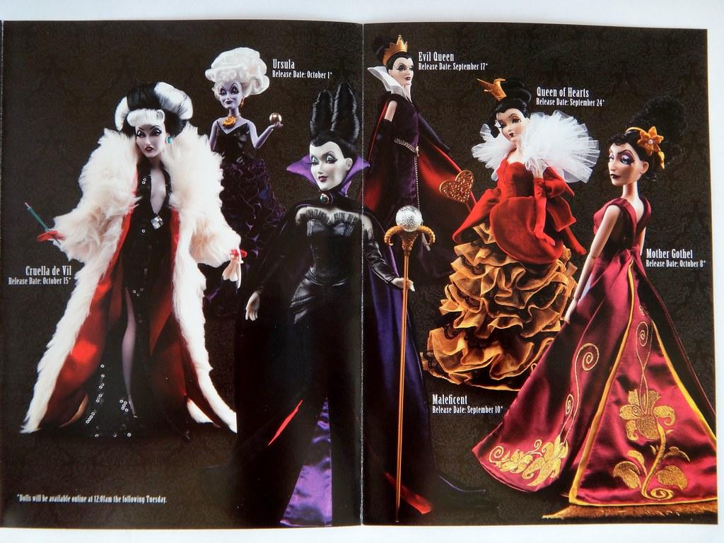 disney villains designer collection disney store promo b