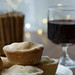 Mulled wine and mince pies © Lia Vittone/ROH 2012