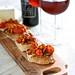 Saint Andre - Bacon and Tomato Crostinis