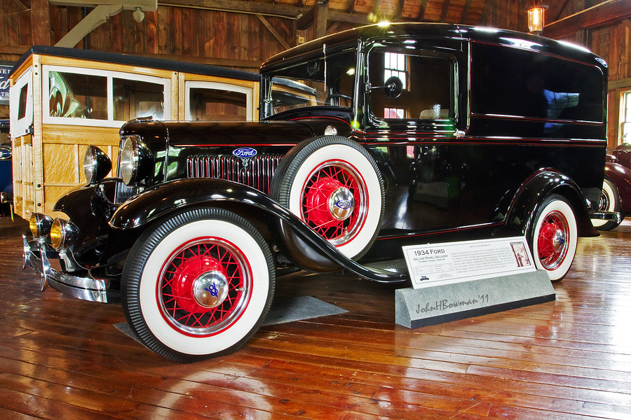 Ford Station Wagon >> 1934 Ford Panel Delivery Truck | 1934 Ford V8 DeLuxe Panel D… | Flickr