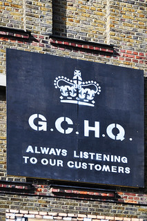 GCHQ / Always listening | by Images George Rex
