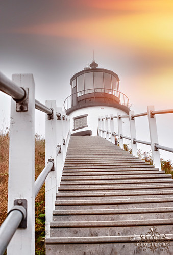 "Owl's Head Lighthouse ~ ""Interesting Perspective."" 