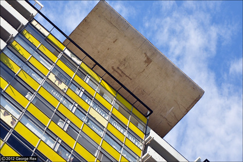 Great Arthur House / Roof wing detail | by Images George Rex