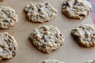 Peanut Butter Oatmeal Chocolate Toffee Cookies | by amyisaacson