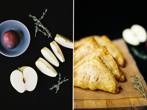 plum and apple turnover | by yossy arefi