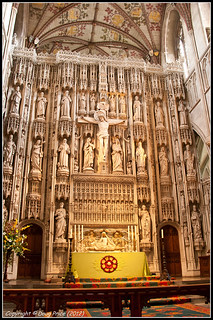 The Wallingford Altar Screen - St Albans Cathedral | by Doug Price.