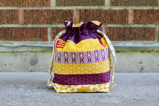 Horizontal Stripes Drawstring Bag | by Jeni Baker | In Color Order