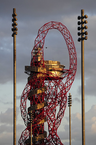 UK - London 2012 - Olympic Park - Orbit at sunset | by Darrell Godliman