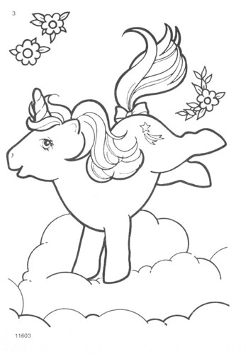 My Little Pony Coloring Pages Crystal Empire : My little pony g coloring pages natasja doe flickr