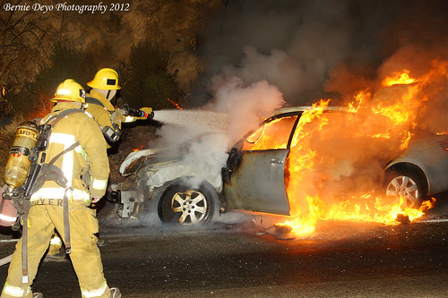 Vehicle Fire LAFD 75s | by Bernie Deyo Photography
