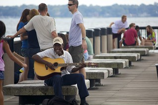 Guitar on the pier | by ktgeek