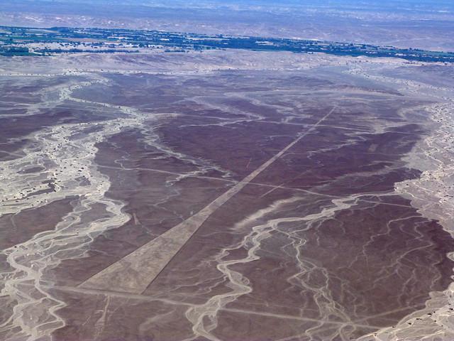 Líneas de Nazca a vista de avioneta