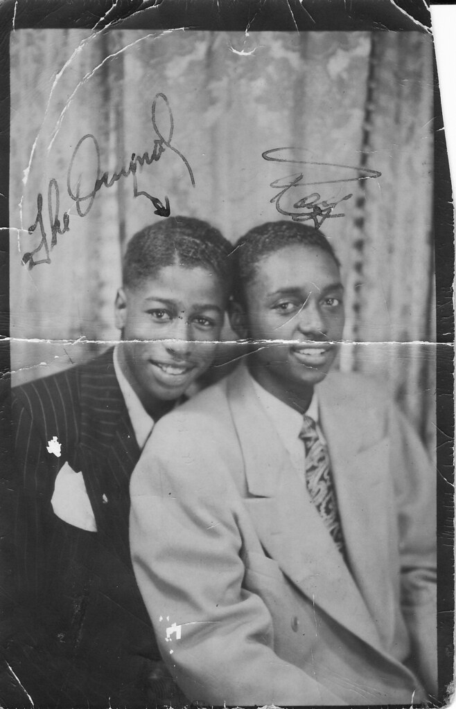 Dapper Young Men,1930S Or 40S  Inscriptions From Left To -4979