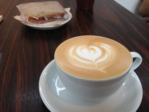 At Ryumon Coffee Stand