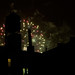 Fireworks over the watertower