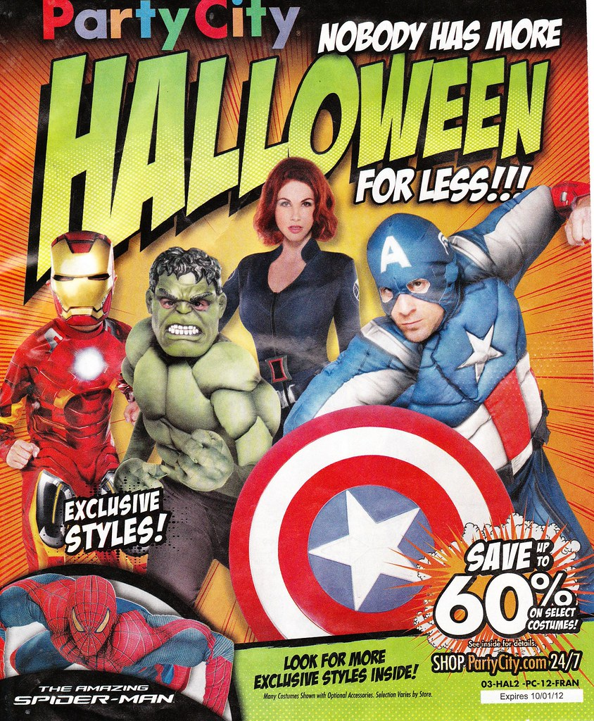 party city halloween catalog 2012 by paxton holley - Halloween Party City
