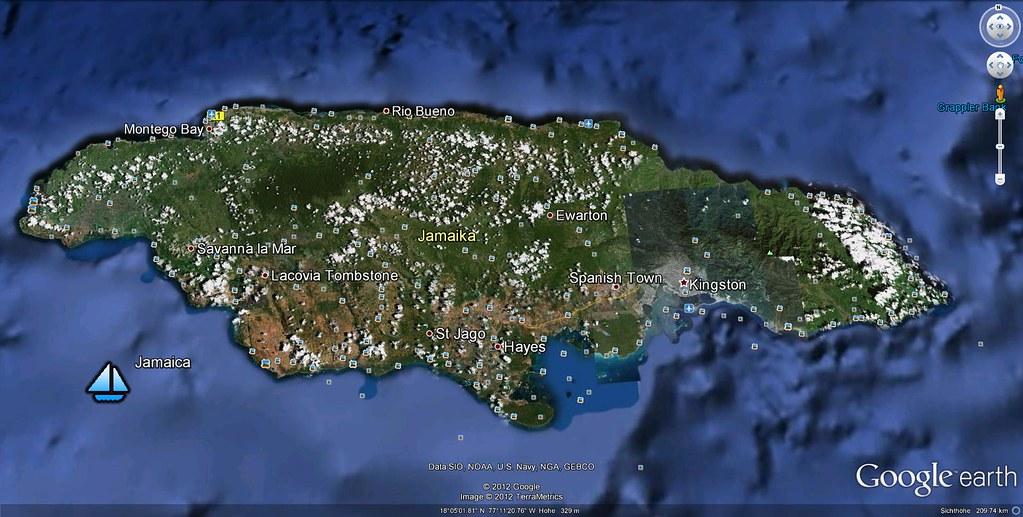 Jamaica google earth erwin worldphoto flickr jamaica google earth by erwin worldphoto gumiabroncs Choice Image