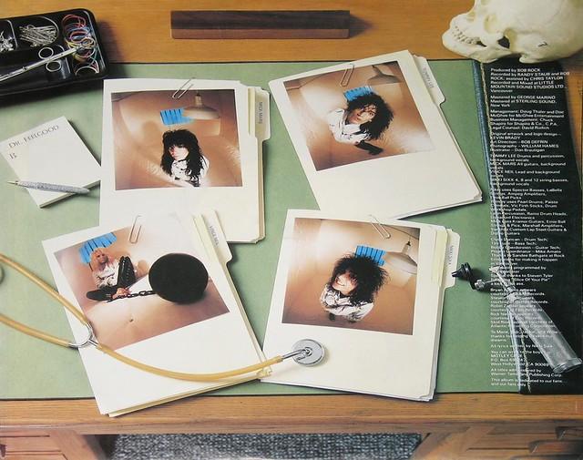 "Motley Crue Dr Feelgood 12"" vinyl LP"