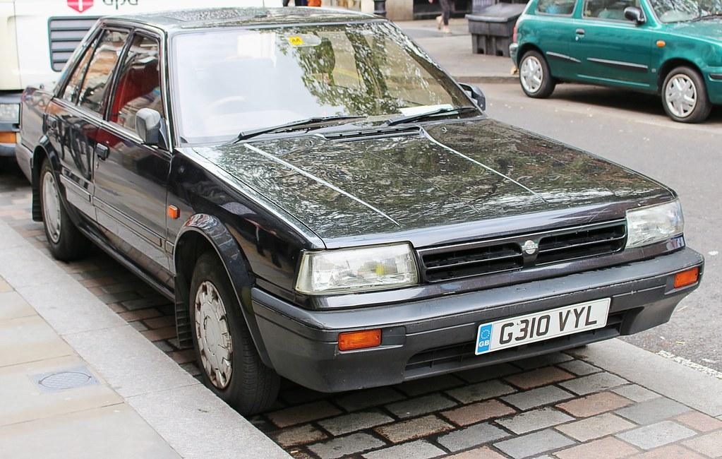 26 year old Nissan Bluebird | Registration number: G310VYL V… | Flickr