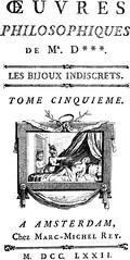 Diderot Les Bijoux Indicrets