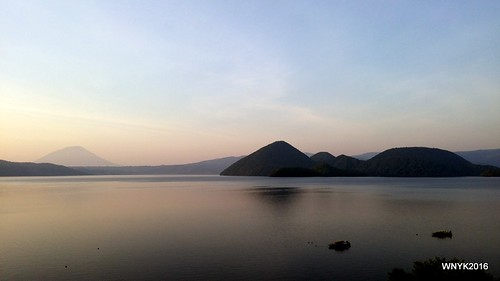 Lake Toya in the Evening