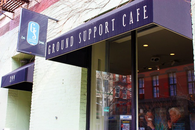 Ground Support Cafe New York Ny