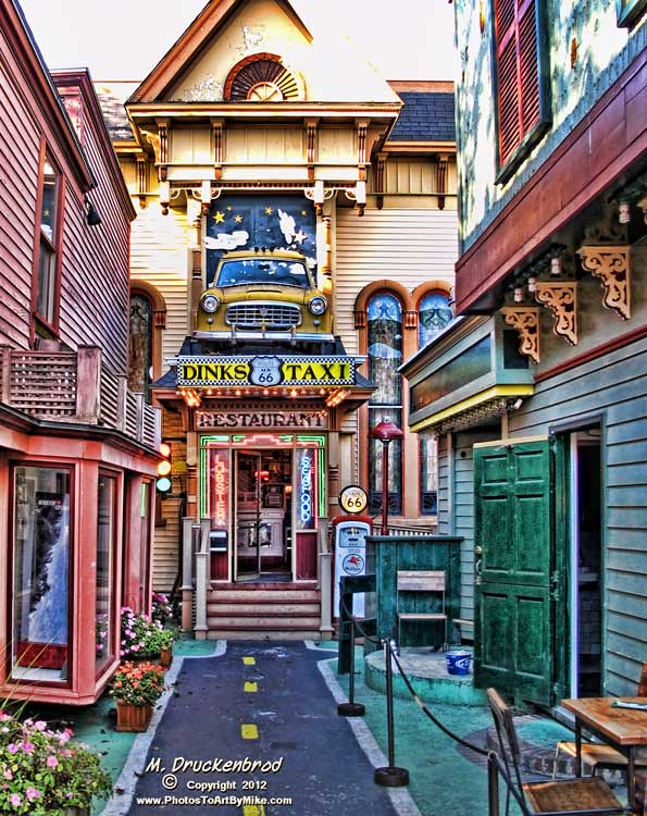 Route 66 Restaurant Bar Harbor Maine Downtown On Cottage Flickr