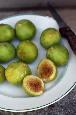 green figs | by David Lebovitz