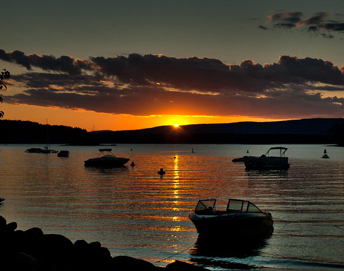 sacandaga sunset | by lookseeseen