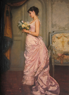 Auguste Toulmouche 'The Note (Le Billet)'  1883 | by Plum leaves