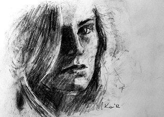 charcoal ladies - hannah | by katekos