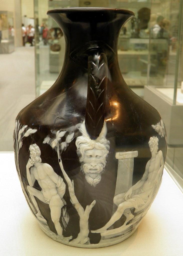 Detail Junction Of Sides B A Of The Portland Vase Came Flickr
