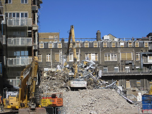 Demolition of the 'Old' Royal London Hospital Sept 12 | by Carol B London