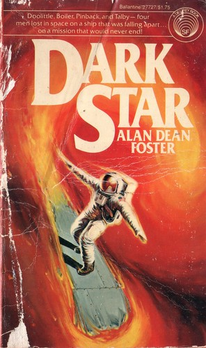 Dark Star by Alan Dean Foster. Del Rey 1978. Cover artist Michael Herring