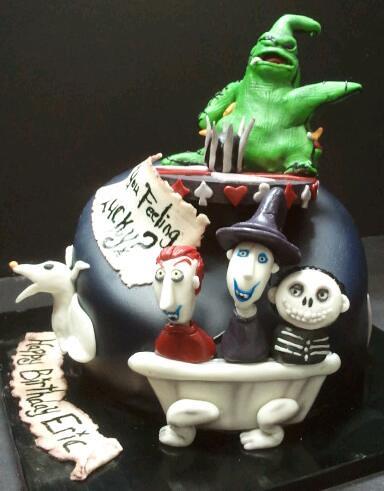 Nightmare Before Christmas Cake Drago Sisters Bakery
