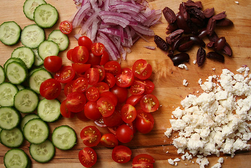 mediterranean chopped salad 3 | by crumblycookie