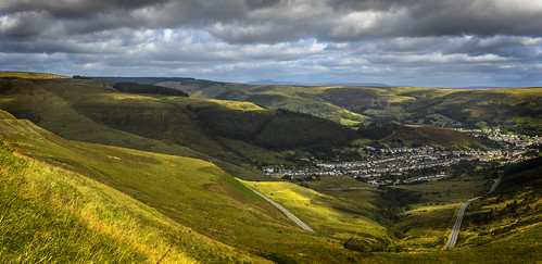 View from the Bwlch | by Chris Tidman Photography