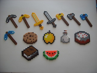 Minecraft Bead Sprites | by JustAnotherLevel