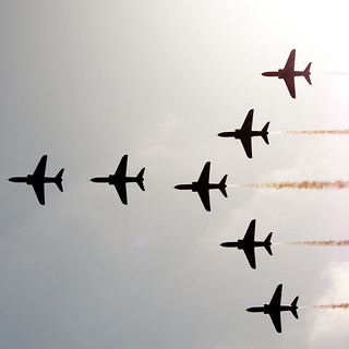 red arrows 7  out of the sun-9159117 | by E.........'s Diary