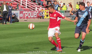 Swindon Town Vs AFC Bournemouth 22nd September 2012 - Warm Up, Action And After Match Shots | by engoism123