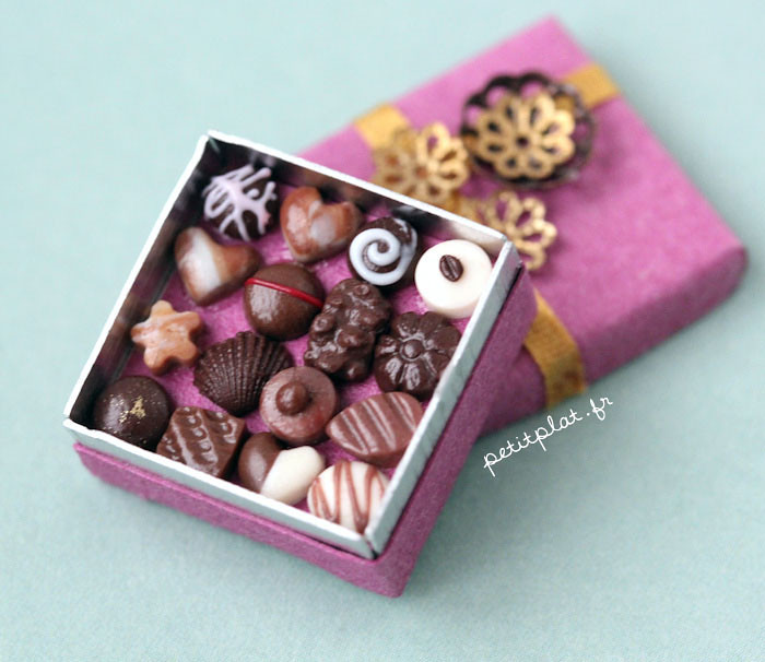 Polymer Clay Chocolate Cake