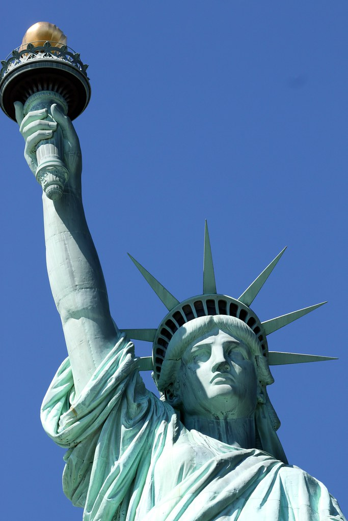 Close up Statue of Liberty | New York City, NY | Prayitno ...
