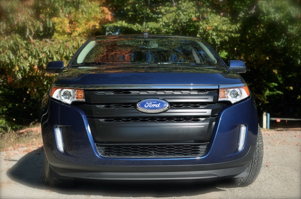 Ford Edge Custom Front Grill View By Nathaniel_be